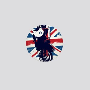 Union Jack Scooter Mini Button